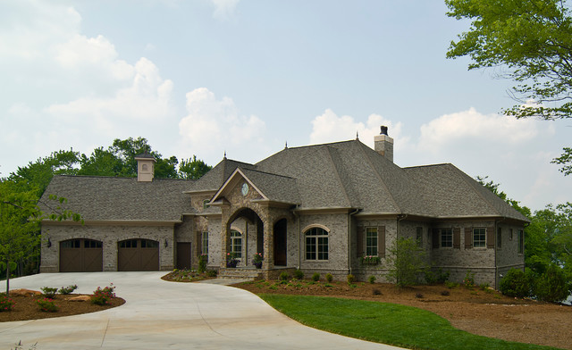 French country traditional exterior charlotte by for French country house exterior
