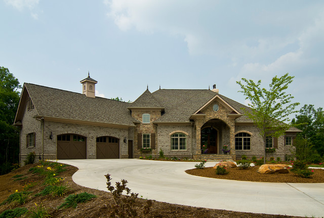 French country traditional exterior charlotte by for Traditional exterior home designs