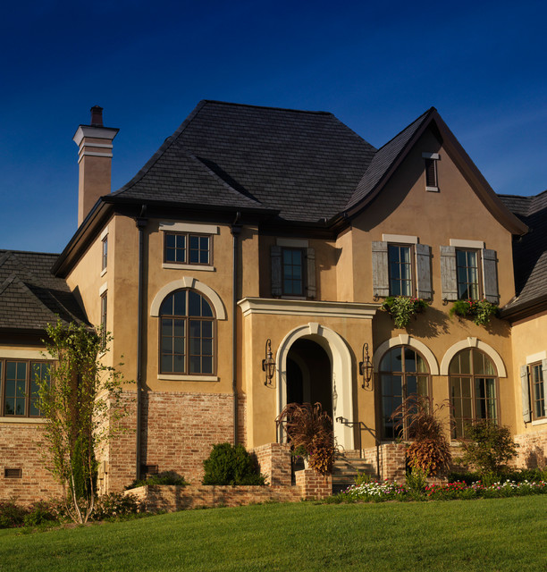 French country styles exteriors for French country exterior