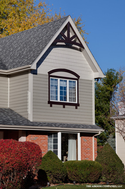 French Country Transformation Traditional Exterior