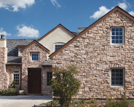 French country stone home design ideas pictures remodel French country stone