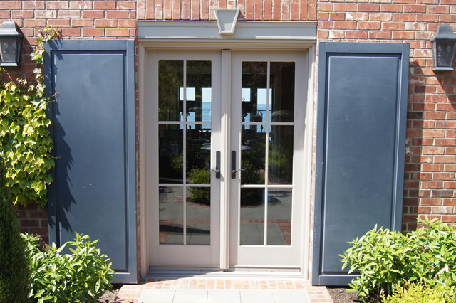 French Door and Shutter Detail
