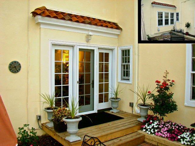 French Door Conversion Traditional Exterior Minneapolis By Home Restoration Services Inc