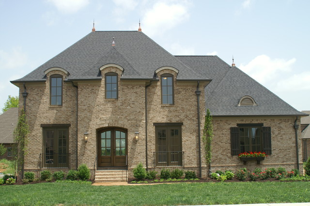 French eclectic custom plan eclectic exterior other for Eclectic house plans