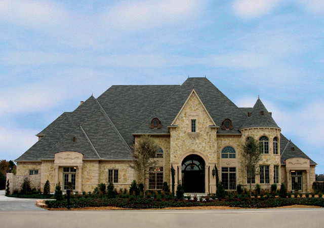 French Eclectic Elevation Westlake Traditional