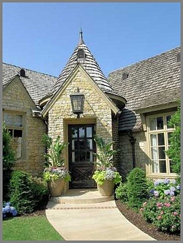 French entry farmhouse country or cottage traditional for French country cottage design