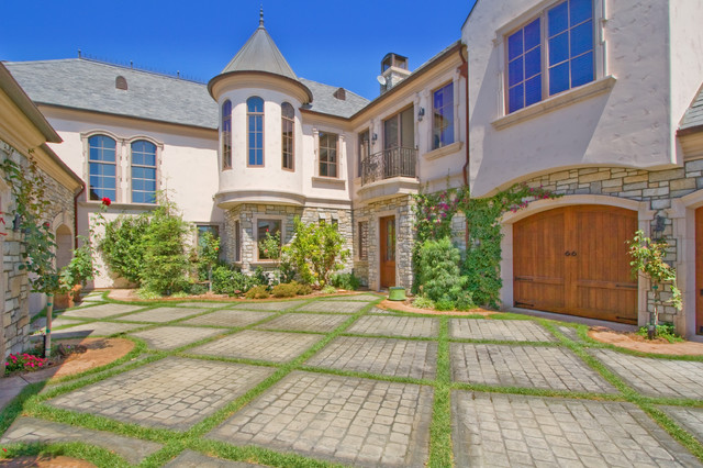 French estate for French mediterranean house
