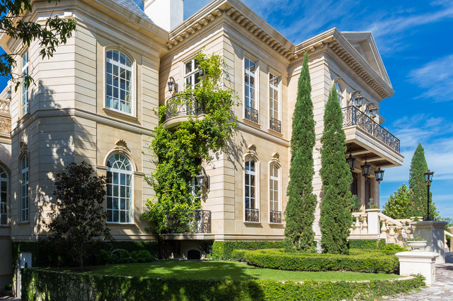 French neoclassical mediterranean exterior tampa for French mediterranean house