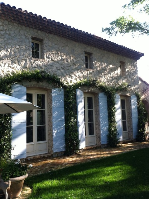 French Provence Farmhouse Exterior