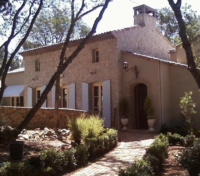French Provence Farmhouse Exterior