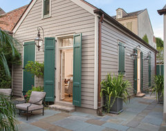 French Quarter Residence traditional exterior