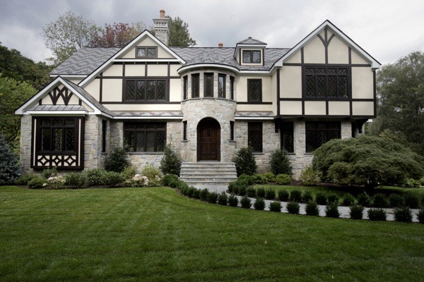 French tudor inspired exterior traditional exterior for French tudor