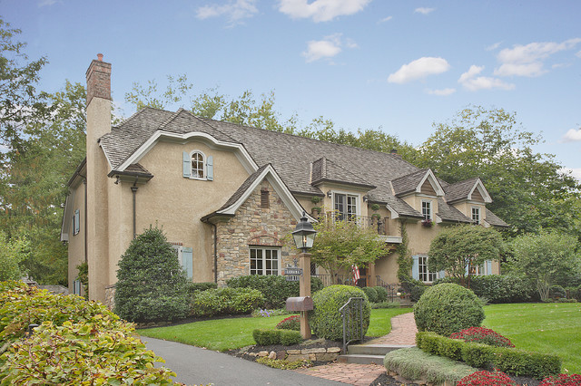 French tudor style home traditional exterior newark for French tudor