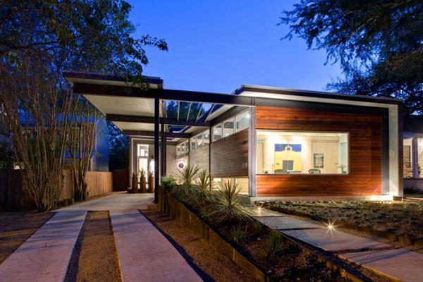 Frick Residence modern-exterior