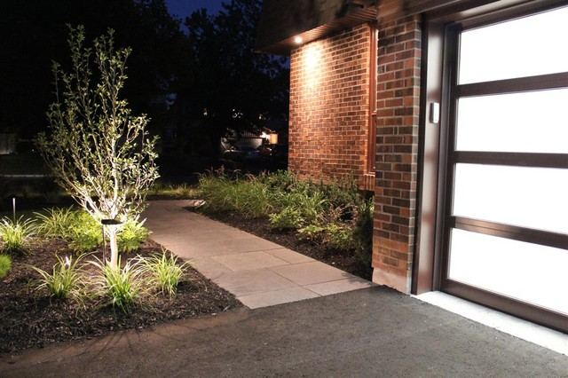 Front & Back Yard Renovation contemporary-exterior