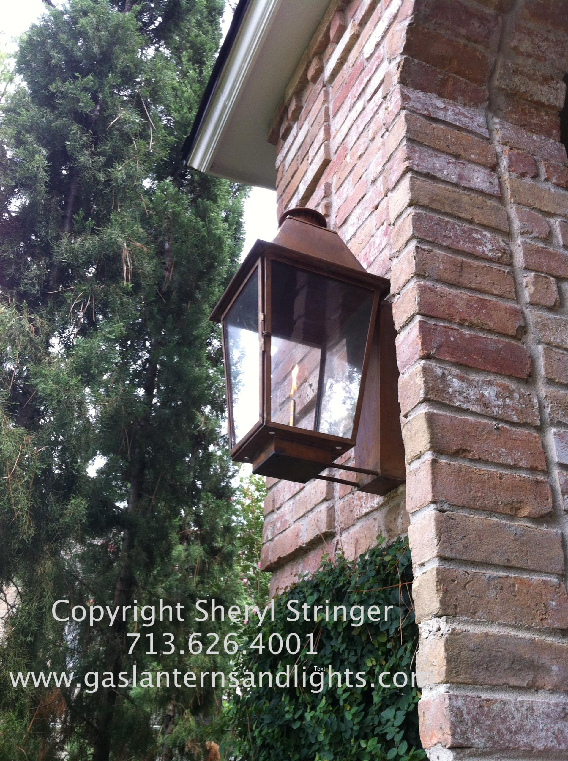 Front Door Gas Lanterns