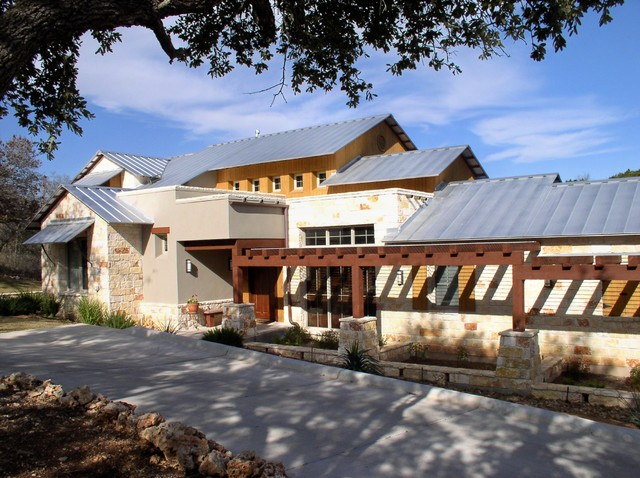 Good Inspiration For A Contemporary Wood Exterior Home Remodel In Austin