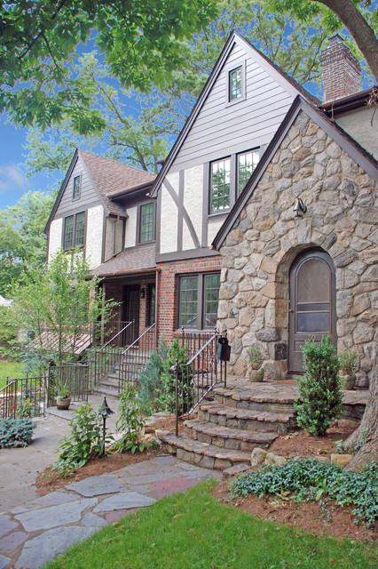 Tudor addition alteration rye ny traditional for Devonshire home design garden city ny