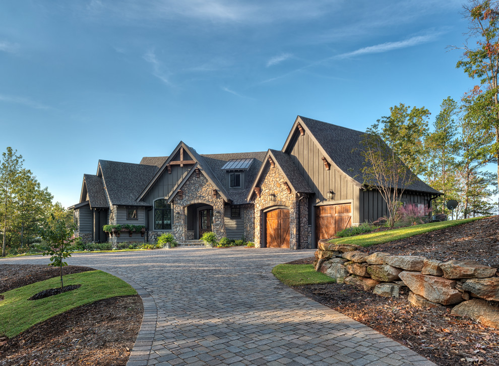 Inspiration for a rustic exterior home remodel in Other