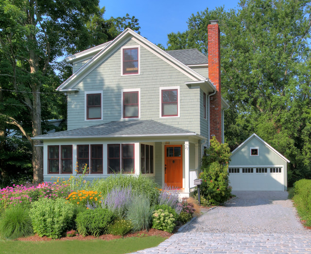 Front Elevation Landscape Ideas : Front elevation traditional exterior bridgeport by