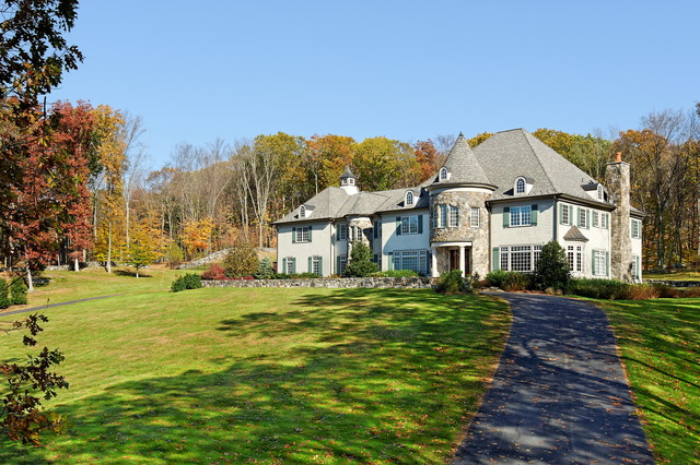 French Country Home (Katonah, NY) traditional-exterior