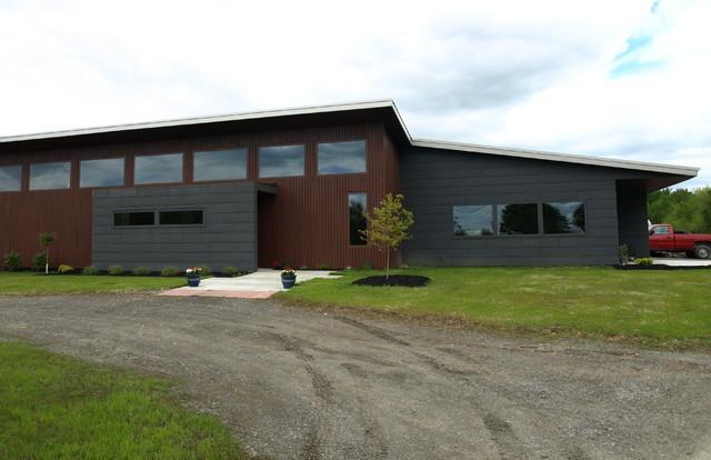 Front Elevation modern-exterior