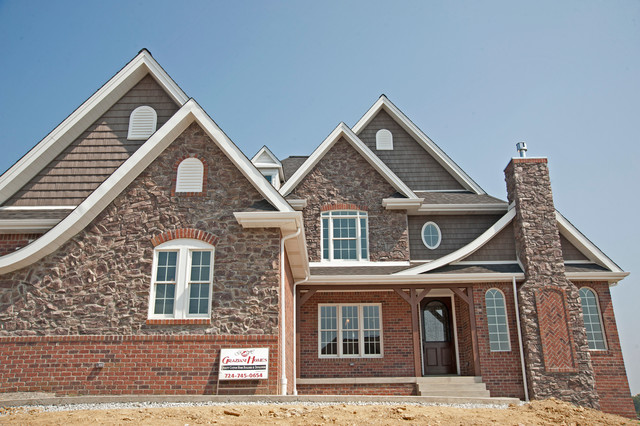 Front Elevation Traditional : Front elevation traditional exterior other by