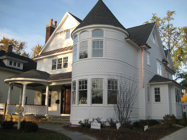 Front Elevation traditional-exterior