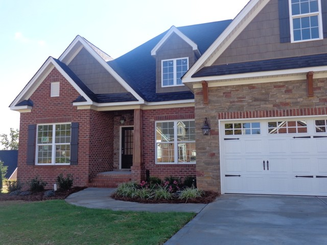 Front Elevation Traditional : Front elevation traditional exterior charlotte by