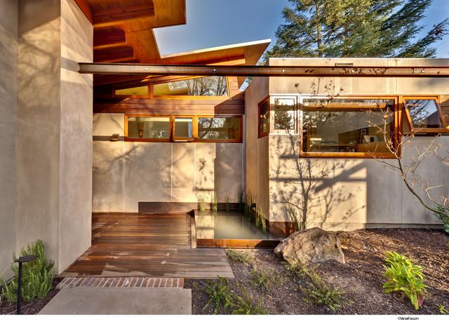 Front entrance modern-exterior