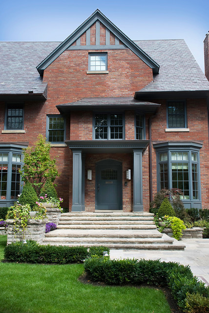 Front Entrances Traditional Exterior Toronto By Infinite Possibilities