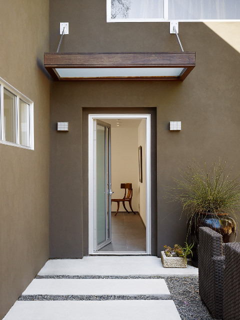 Front Entry Canopy Contemporary Exterior San