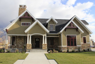 Front Exterior - Craftsman - Exterior - Salt Lake City - by JCD Custom Home Design