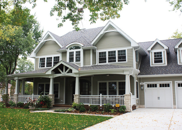 Front Exterior Traditional Exterior Chicago By