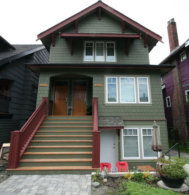 Front Exterior Of Heritage Home - Traditional - Exterior ...