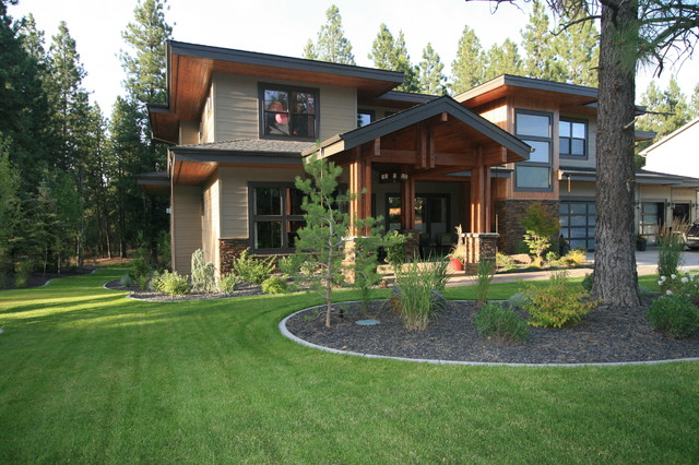 Front exterior exterior seattle by taylor design - Tony taupe sherwin williams exterior paint ...