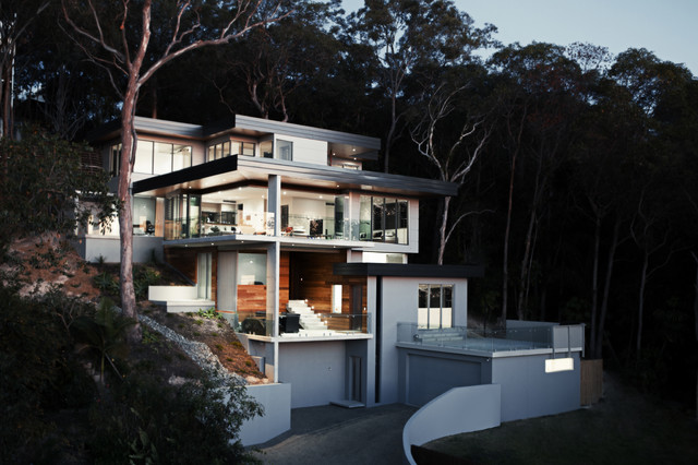 Superb Gold Coast Building Designers · Building Designers And Drafters. Front  Facade Contemporary Exterior