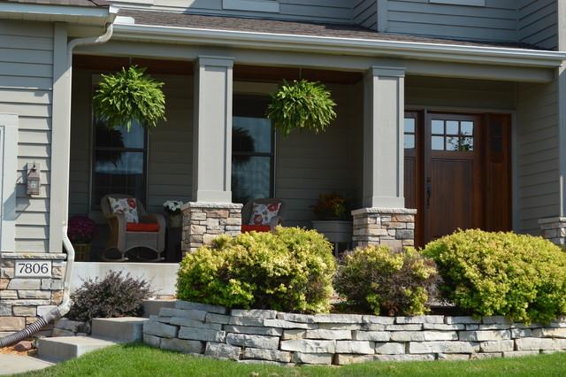 Front Porch Craftsman Exterior Minneapolis By Echelon Builders Inc
