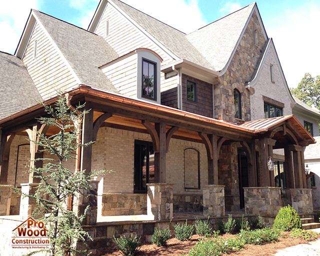 Front Porch Traditional Exterior Atlanta By Pro Wood Market