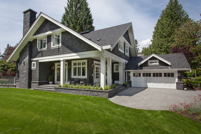 Front Side Elevation Traditional Exterior Other Metro By Synthesis Design Inc