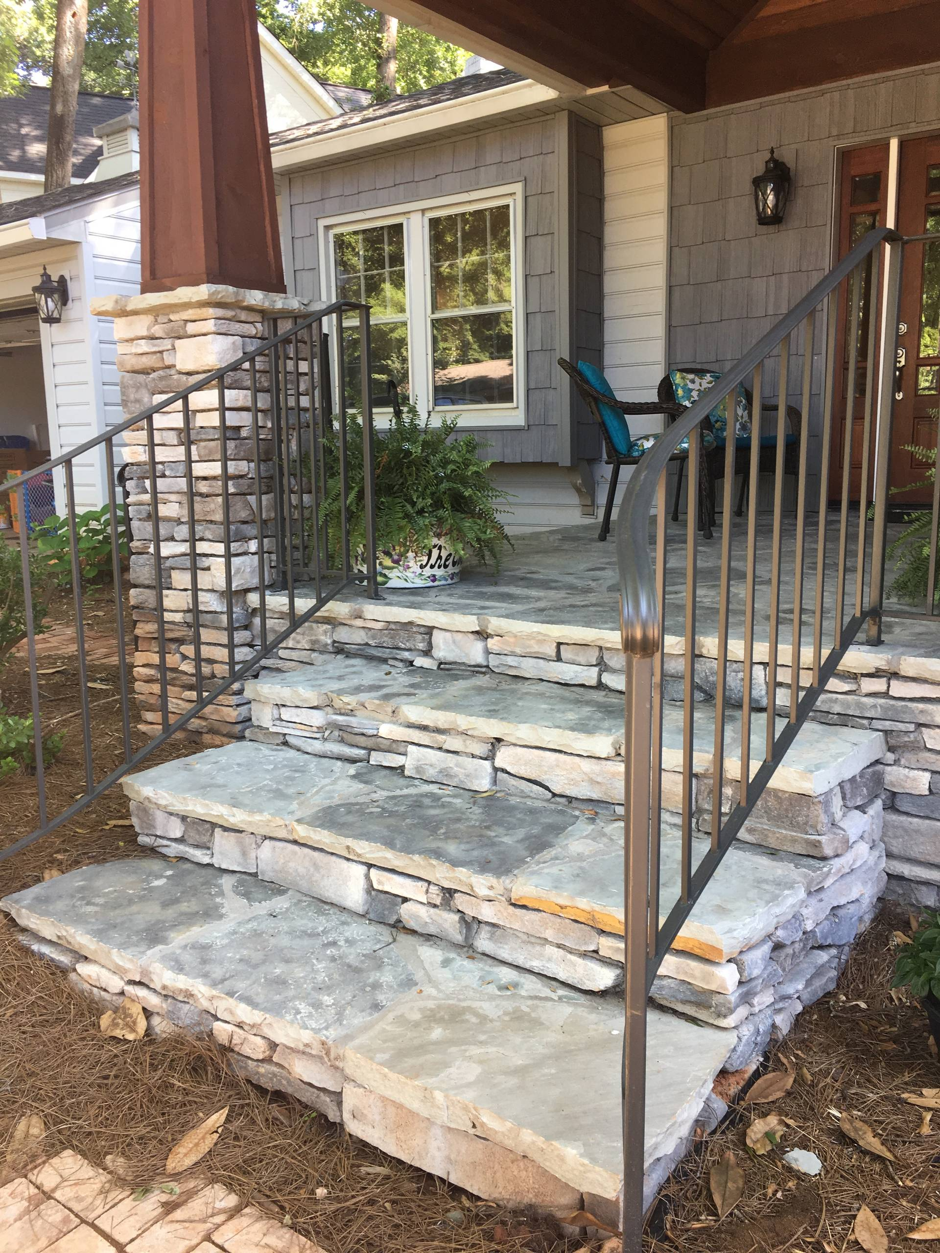 Front Stone Steps