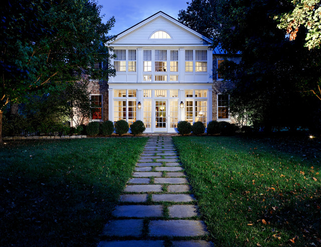 Front walkway traditional exterior dc metro by - Front door walkways and paths ...