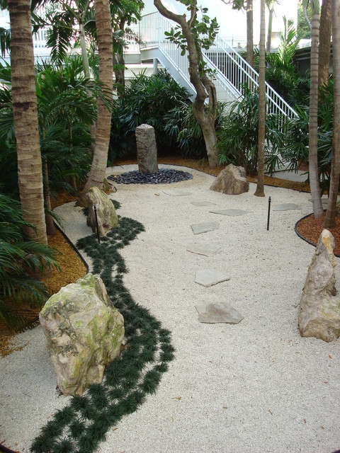 Ft lauderdale zen garden asian exterior miami by for Landscaping rocks fort lauderdale