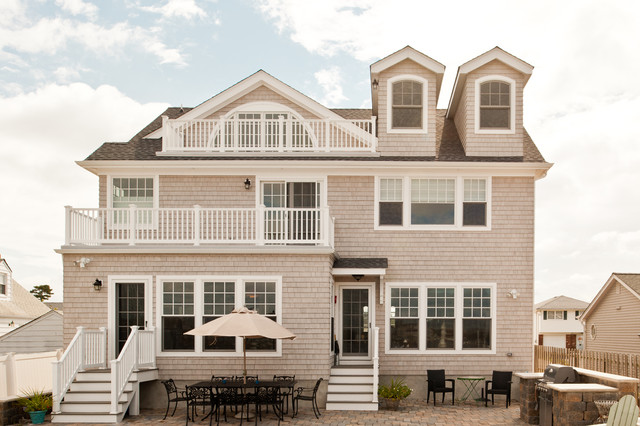 Full Home Classic Beauty Coastal Exterior New York By Padula Builders Inc