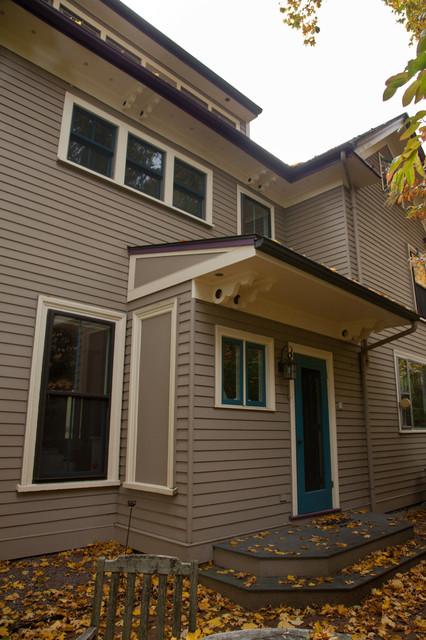 Full House Renovation - Jamaica Plain traditional-exterior