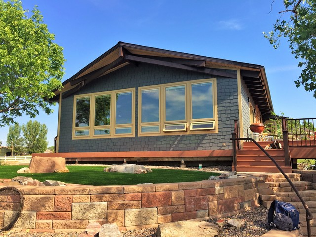 Full Remodel And Expansion In Arvada Colorado Country Exterior Denver By Dwyer