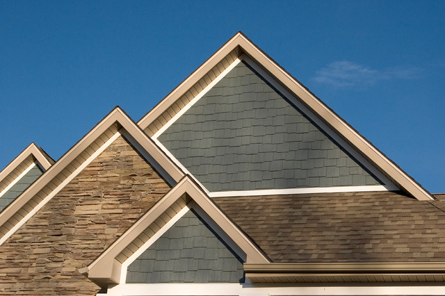Gable detail traditional-exterior