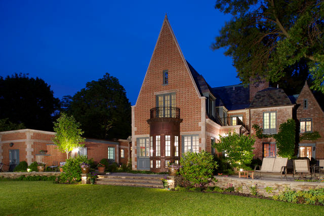 Gabled Estate traditional exterior