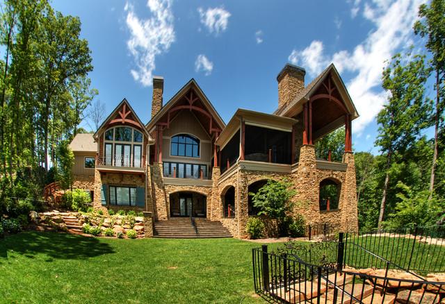 Gabriel Builders rustic-exterior