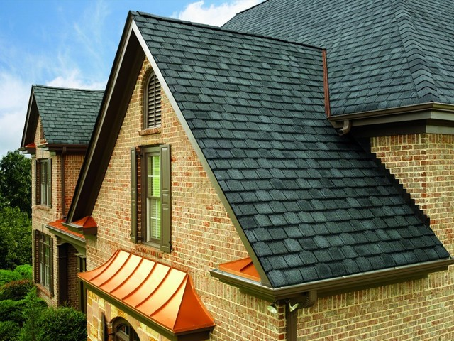 Gaf Roofing Traditional Exterior Minneapolis By Lindus Construction Midwest Leafguard